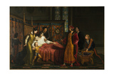 Charles VIII Visits Gian Galeazzo Sforza at Pavia in 1494, 1816-1818 Giclee Print by Pelagio Palagi