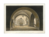 Interior of the Church of the Holy Sepulchre at the Site of Golgotha, 1821 Giclee Print by Maxim Nikiphorovich Vorobyev