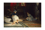 In the Nursery, 1885 Giclee Print by Albert Gustaf Aristides Edelfelt