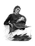 Study of a Woman Holding a Baby, 1895 Giclée-Druck von Hubert von Herkomer