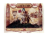 World War 2: Liberation of France, 1944 Giclee Print