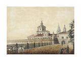 The St. Andronik Monastery in Moscow, 1780S Giclee Print by Francesco Camporesi