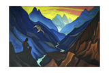 Command of the Master, 1947 Giclee Print by Nicholas Roerich