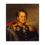 Portrait of General Alexander Alexandrovich Pisarev, before 1825 Giclee Print by George Dawe