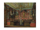 Turkish Room in the Catherine Palace in Tsarskoye Selo, Mid of the 19th C Giclee Print by Eduard Hau