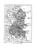 Map of County Dublin, Ireland, 1924-1926 Giclee Print
