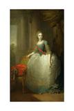 Grand Duchess Elena Pavlovna of Russia (1784-180), 1797 Giclee Print by Vladimir Lukich Borovikovsky