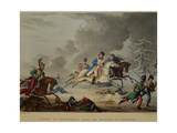 The Flight of Bonaparte from the Battle of Krasnoi, 1815 Giclee Print by Thomas Sutherland