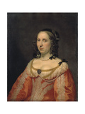 Portrait of a Woman, 1649 Giclee Print by Bartholomeus Van Der Helst