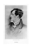 Lord Byron, Anglo-Scottish Poet, 19th Century Giclee Print by George Henry Harlow