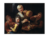 The Peasant's Meal Giclee Print by Giacomo Francesco Cipper
