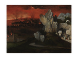 Landscape with the Destruction of Sodom and Gomorrah, C. 1520 Giclee Print by Joachim Patinir