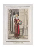 Slippers, Cries of London, 1804 Giclee Print by William Marshall Craig
