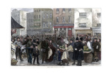 Sunday Morning in the New Cut, Lambeth, 1872 Giclee Print by  Smith