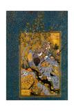 Habib Allah - Folio from Mantiq Al-Tayr (The Language of the Bird) by Attar, Ca. 1600 Digitálně vytištěná reprodukce