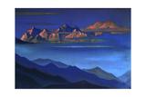 Kangchenjunga, 1944 Giclee Print by Nicholas Roerich