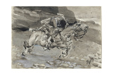 Horseman, 1890-1891 Giclee Print by Mikhail Alexandrovich Vrubel