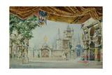 Stage Design for the Ballet Raimonda by A. Glazunov, 1899 Giclee Print by Konstantin Matveevich Ivanov