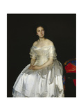 Portrait of Princess Maria Vasilyevna Vorontsova (1819-189), 1851 Giclee Print by Sergei Konstantinovich Zaryanko