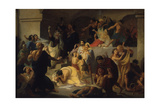 Christian Martyrs in the Colosseum, Early 1860S Giclee Print