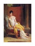 Portrait of Julie Récamier, 1802 Giclee Print by Francois Pascal Simon Gerard