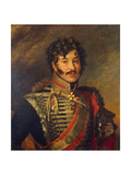 Portrait of General Sergey Nikolayevich Lanskoy, before 1825 Giclee Print by George Dawe