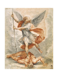 Saint Michael the Archangel, C1629-1630 Giclee Print by Giuseppe Cesari