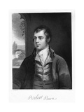 Robert Burns, Scottish Poet, Late 18th Century Giclee Print by Alexander Nasmyth