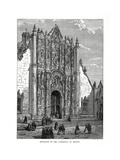 The Cathedral, Mexico City, Mexico, 19th Century Giclee Print