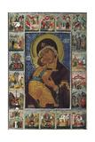 The Virgin of Vladimir, 16th Century Giclee Print