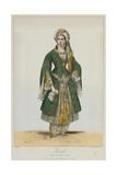 Élisa Rachel as Roxane in Bajazet by Racine, 1838 Giclee Print by Achille Devéria