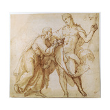 The Incredulity of Saint Thomas, Early 17th Century Wydruk giclee