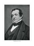 Washington Irving, American Author, 20th Century Giclee Print