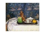 Still Life with a Coffee Pot, 1900 Reproduction procédé giclée par Camille Pissarro