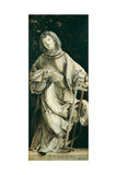 Panel of the Heller Altar Depicting St. Laurence Giclée-tryk af Matthias Grünewald