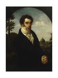 Portrait of Prince Alexander Mikhailovich Golitsyn (1798-185), 1819 Giclee Print by Orest Adamovich Kiprensky