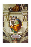 The Delphic Sibyl (Sistine Chapel Ceiling in the Vatica), 1508-1512 Giclee Print by  Michelangelo Buonarroti