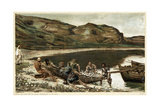 The Second Miraculous Draught of Fishes, C1890 Giclee Print by James Jacques Joseph Tissot