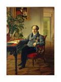 Portrait of Prince Alexander Nikolayevich Golitsyn (1773-184), 1840 Giclee Print by Karl Pavlovich Briullov