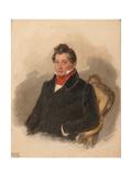 Portrait of Count Matvey Yuryevich Vilyegorsky (1794-186), 1840S Giclee Print by Pyotr Fyodorovich Sokolov