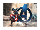The Avengers: Age of Ultron - Captain America Print