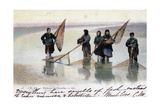 Women Shrimp Fishers, Calais, 1905 Giclee Print