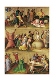 Martyrdom of the Apostles. Left Panel Giclee Print by Stephan Lochner