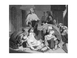 The Burial of Harold at Waltham Abbey, (C184) Giclee Print by Frederick Richard Pickersgill