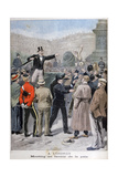 Meeting in Favour of Peace, London, 1899 Giclee Print
