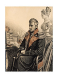 Portrait of Count Mikhail Vorontsov (1782-185), 1820S Giclee Print by Carl Von Hampeln