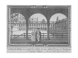 Gresham College, City of London, 1760 Giclee Print