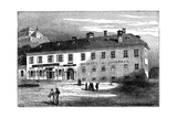 The House in Which Mozart Lived in Salzburg, Austria, Late 18th Century Giclee Print