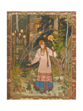 Vasilisa the Beautiful (Illustration to the Book Vasilisa the Beautifu), 1900 Giclée-Druck von Ivan Yakovlevich Bilibin