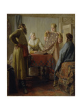 Scene from Everyday Life of the 17th Century, Mid of the 19th C Giclee Print by Nikolai Vasilyevich Nevrev